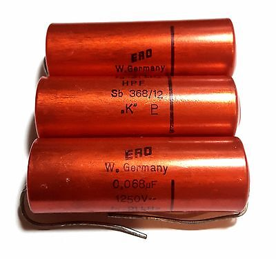 MIL Spec 125℃ Axial Capacitor M39018 Audio Tone US Made 3pcs 50V 180uF BMI