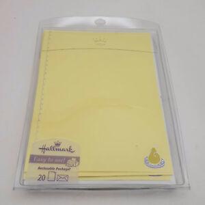 Hallmark-Stationary-20-Designed-Sheets-amp-20-Designed-Envelopes