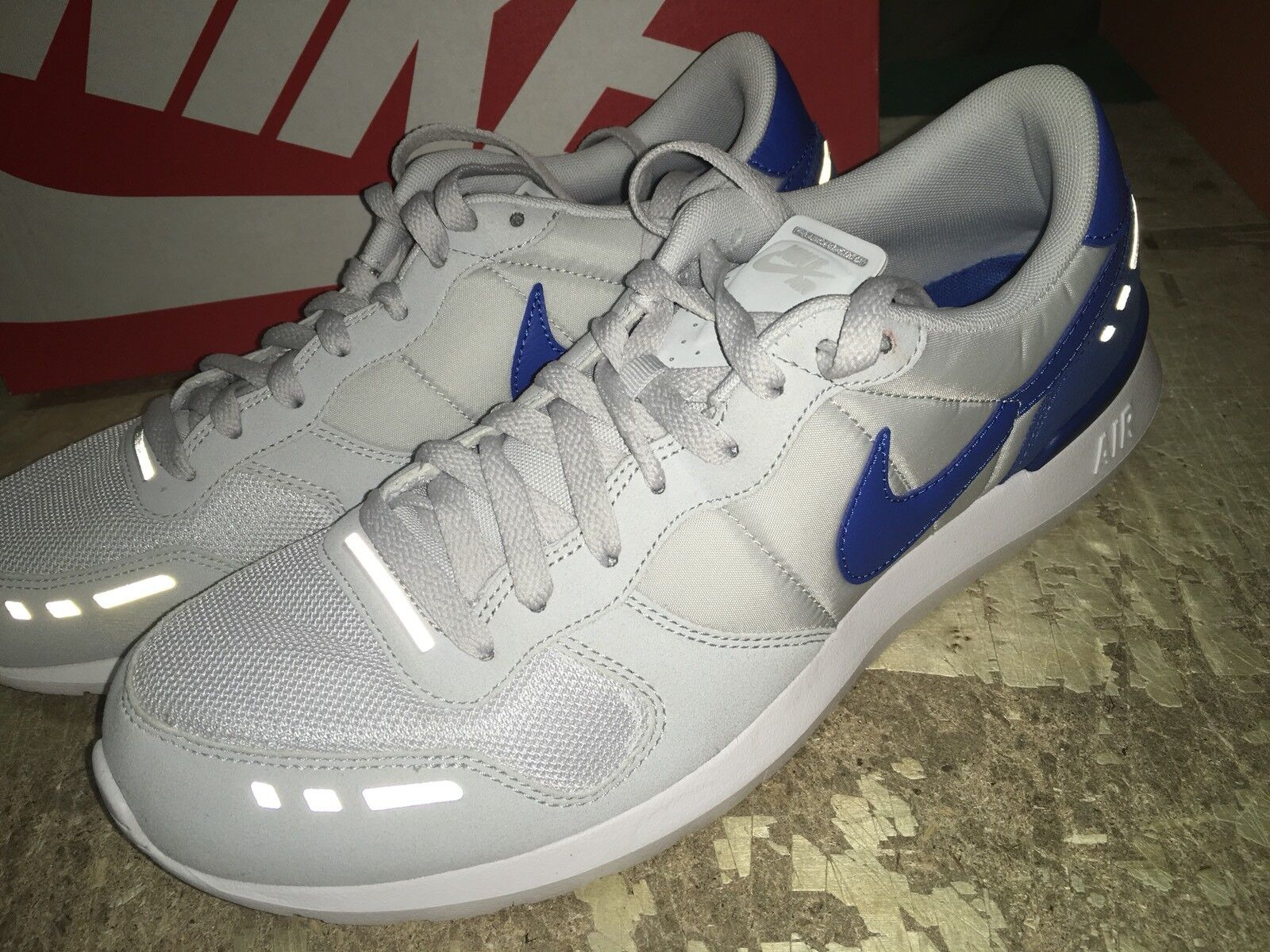 Comfortable and good-looking USED NIKE MENS AIR VRTX 17 PURE Platinum 876135 005 Price reduction