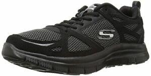 NUOVA-Linea-Uomo-Skechers-GOwalk-4-Scarpe-distanza-stile-51460-Taglia-8-Nero-78B-PR