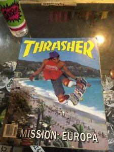 Thrasher-Skateboard-Magazine-October-1987-Christian-Hosoi-John-Gibson-10-87-Oct