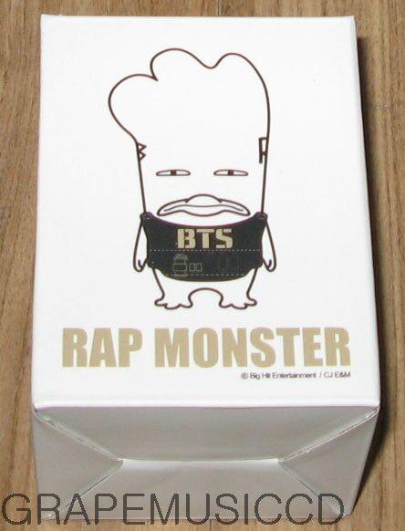 BANGTAN BOYS BTS 방탄소년단 HIPHOP MONSTER CHARACTER GOODS 6cm FIGURE RAP MONSTER NEW