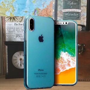 Apple-iPhone-10-Impact-Displacement-Composite-Gel-TPU-Precision-Fit-Blue-Case