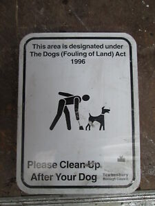 Dog-Fouling-sign-road-sign-traffic-sign-street-sign-Tewkesbury-sign
