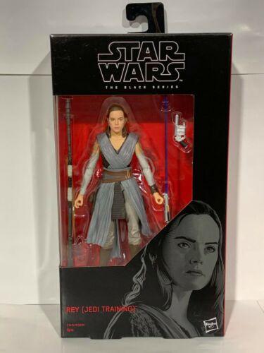 STAR Wars Nero Serie Rey formazione Jedi Action Figure