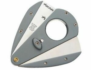 XiKAR-Xi1-100TI-Cigar-Cutter-Double-Blade-Cuts-54-58-Ring-Sharp-440-Blades