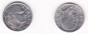 20 Centesimi 1941 - Italien - seltene Original Münze - 0451 - Erfurt, Deutschland - 20 Centesimi 1941 - Italien - seltene Original Münze - 0451 - Erfurt, Deutschland