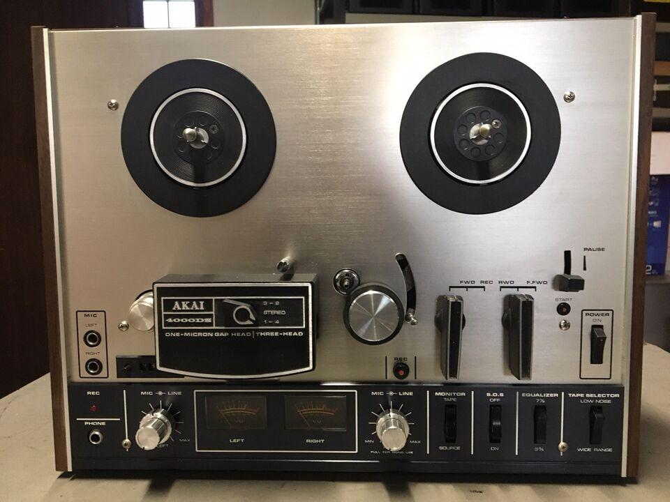 Båndoptager, Akai, 4000 DS