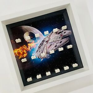 Display-case-Frame-for-Lego-Star-Wars-minifigures-no-figures-Falcon-27cm