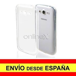 Funda Silicona Para Samsung Galaxy Grand Neo Plus Carcasa Transparente Tpu A2083