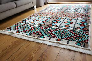 130x-200-cm-Orientalischer-Teppich-Kelim-Carpet-Rug-neu-Damaskunst-S-1-4-20