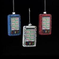 Nb0823 Noble Gems Ebook-reader Tablet Glass Christmas Ornament Kindle-nook-ipad