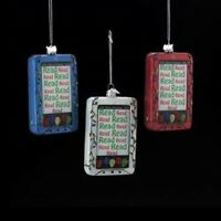 Nb0823 Noble Gems Ebook-reader Tablet Glass Christmas Ornament Kindle-nook-ipad