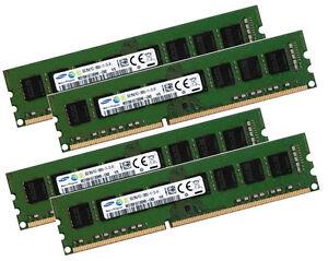 4x-8GB-32GB-Samsung-RAM-Speicher-DIMM-DDR3-1600-Mhz-240-pin-PC3-12800U-Desktop