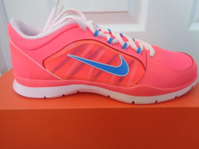 Nike Flex Trainer 4 Damen Sneaker Schuhe 643083 011 UK 3 EU 36 US 5.5 NEU + Box