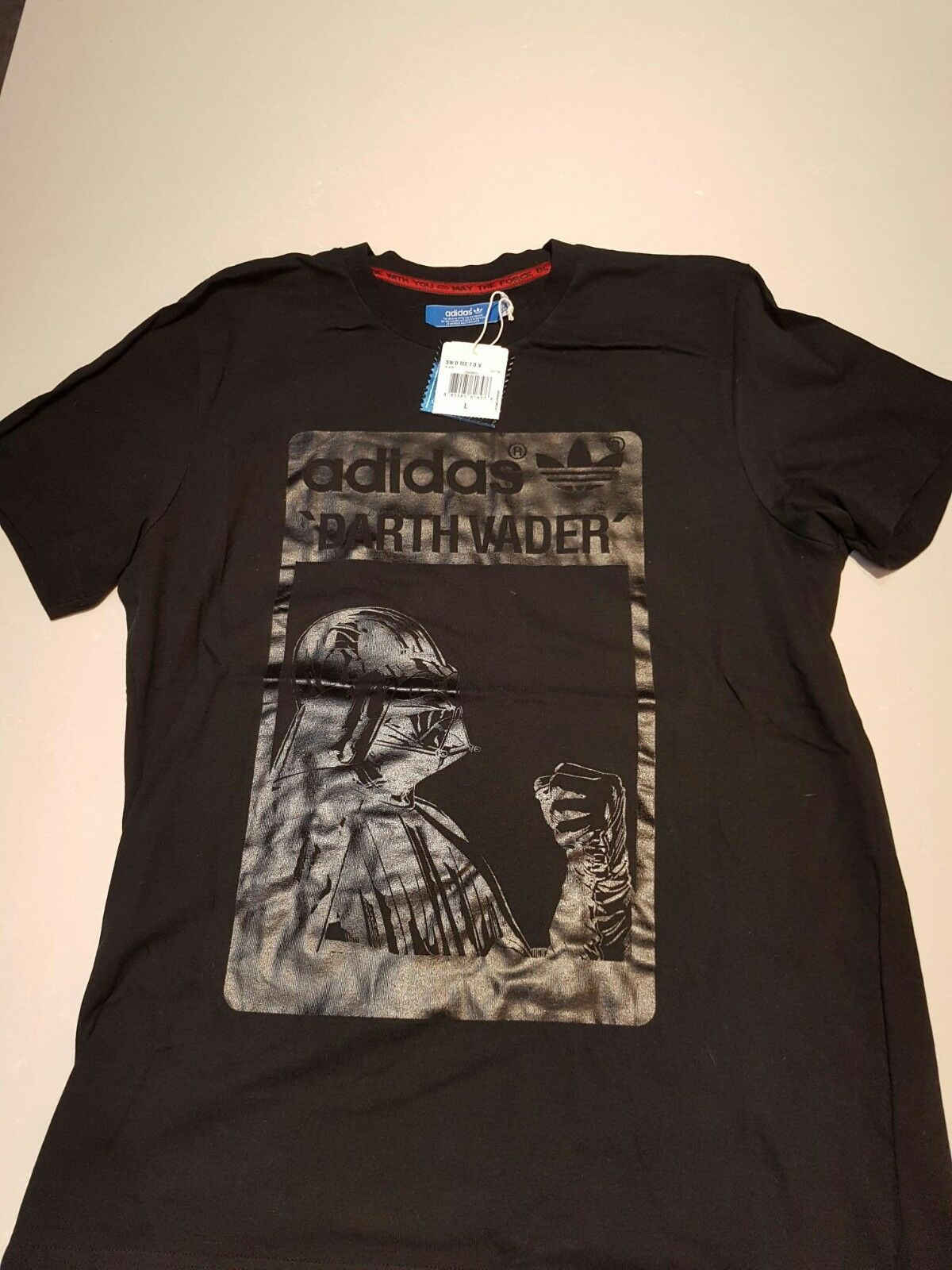 Geniune Adidas Star Wars T Shirt, with Tag Large NLA