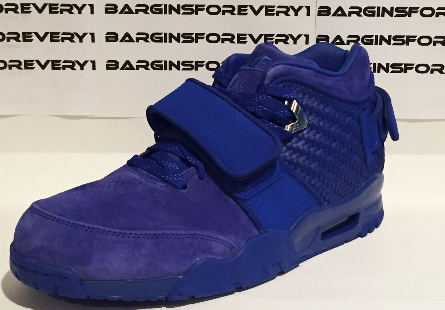 Nike Air Trainer Victor Cruz PRM - Size 10 - Rush Blue/Gym Red - 812637-400