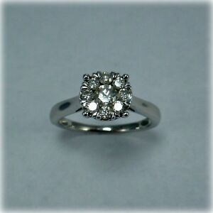 9ct-White-Gold-Half-Carat-Diamond-Cluster-Ring