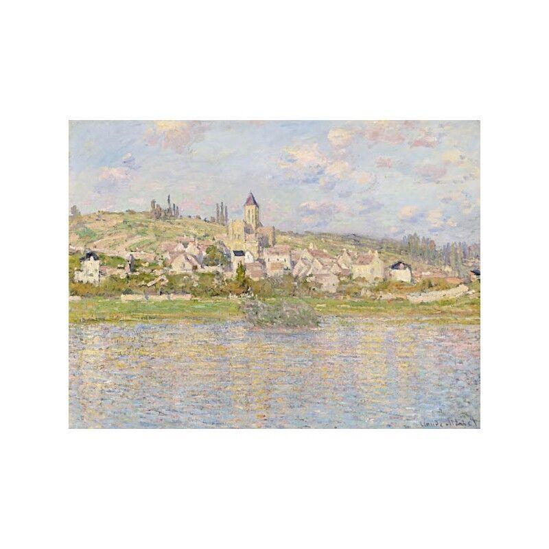 Quadro Quadro Quadro su Pannello in Legno MDF Claude Monet Vétheuil | Matériaux Soigneusement Sélectionnés  abce2f
