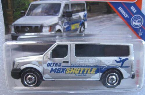 Nissan NV Van Flughafen-Shuttle  Matchbox 17//20  1:64  OVP  NEU  2018