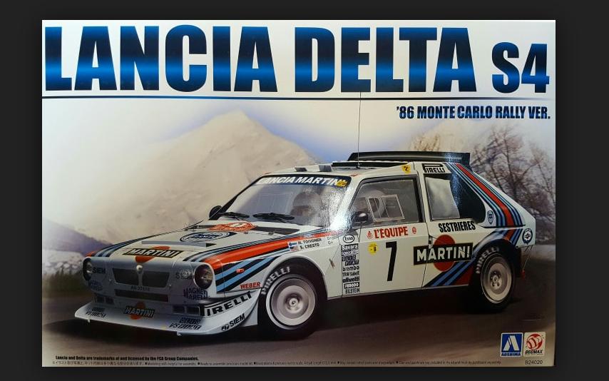 Lancia Delta S4 Rally Montecarlo 1986 1 24 kit di montaggio B24020 Beemax