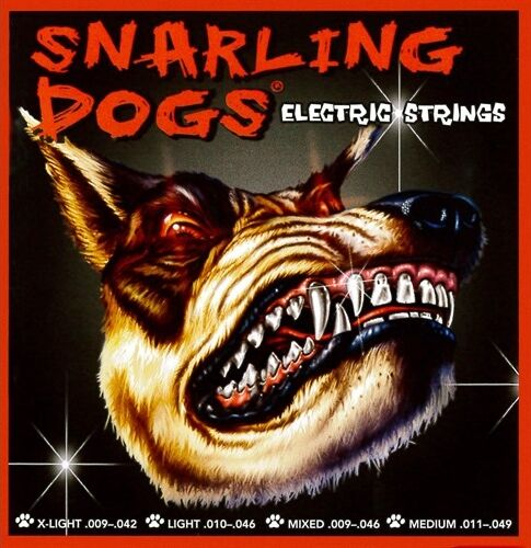 Snarling Dogs Nickel Wound Electric Guitar Strings
