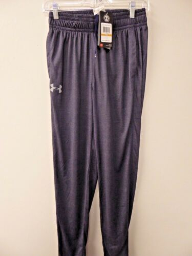 GRAY NAVY NEW-MEN/'S UNDER ARMOUR TECH PANTS- 1271951- BLK SIZE SMALL- $39.95