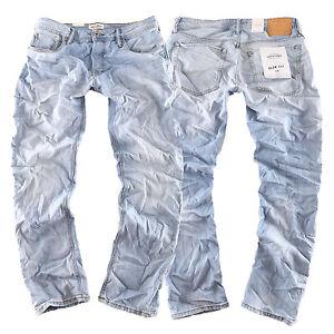 8ab0b6443137 Caricamento dell immagine in corso Jack-amp-JONES-TIM-ORIGINAL-Slim-Fit- Jeans-
