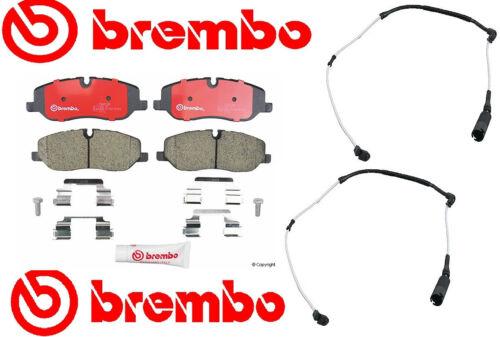 Brembo Front Ceramic Disc Brake Pad+Sensors  Range Rover HSE 4.4 Liter