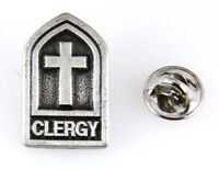 6030159 Clergy Lapel Pin Clergy Religious Pastor Christian Priest Minister Ti...