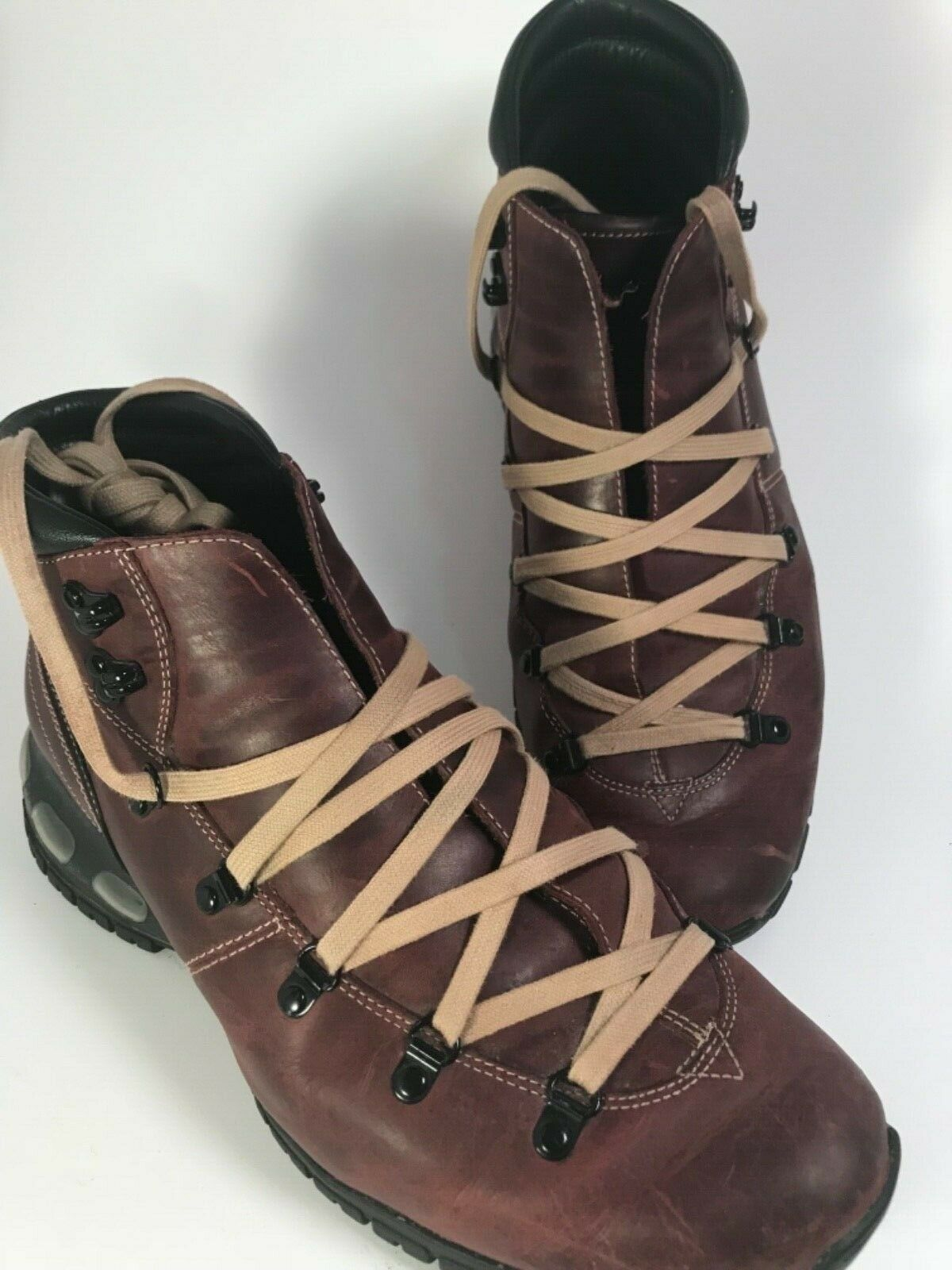 save off 56d85 ded55 Cole Haan Air Andes Alpine Men s Hiker Boots Boots Boots Brown Size 10 M  6fa7a6