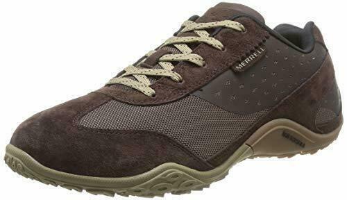Homme MERRELL WRAITH PYRE en Cuir Marron paniers Esvoiturepins Confortable Décontracté Chaussures
