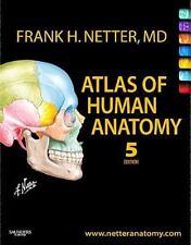 Netter Basic Science: Atlas of Human Anatomy by Frank H  Netter (2010,  Paperback)