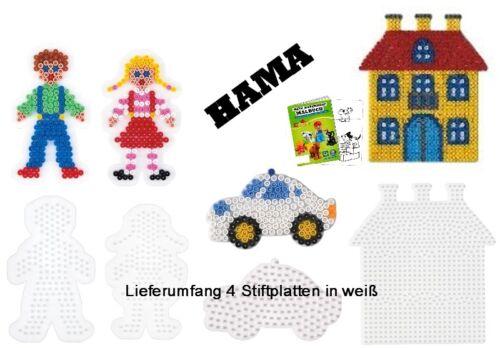 Auto HAMA Stiftplatten-Set midi Junge Mädchen Haus Malheft