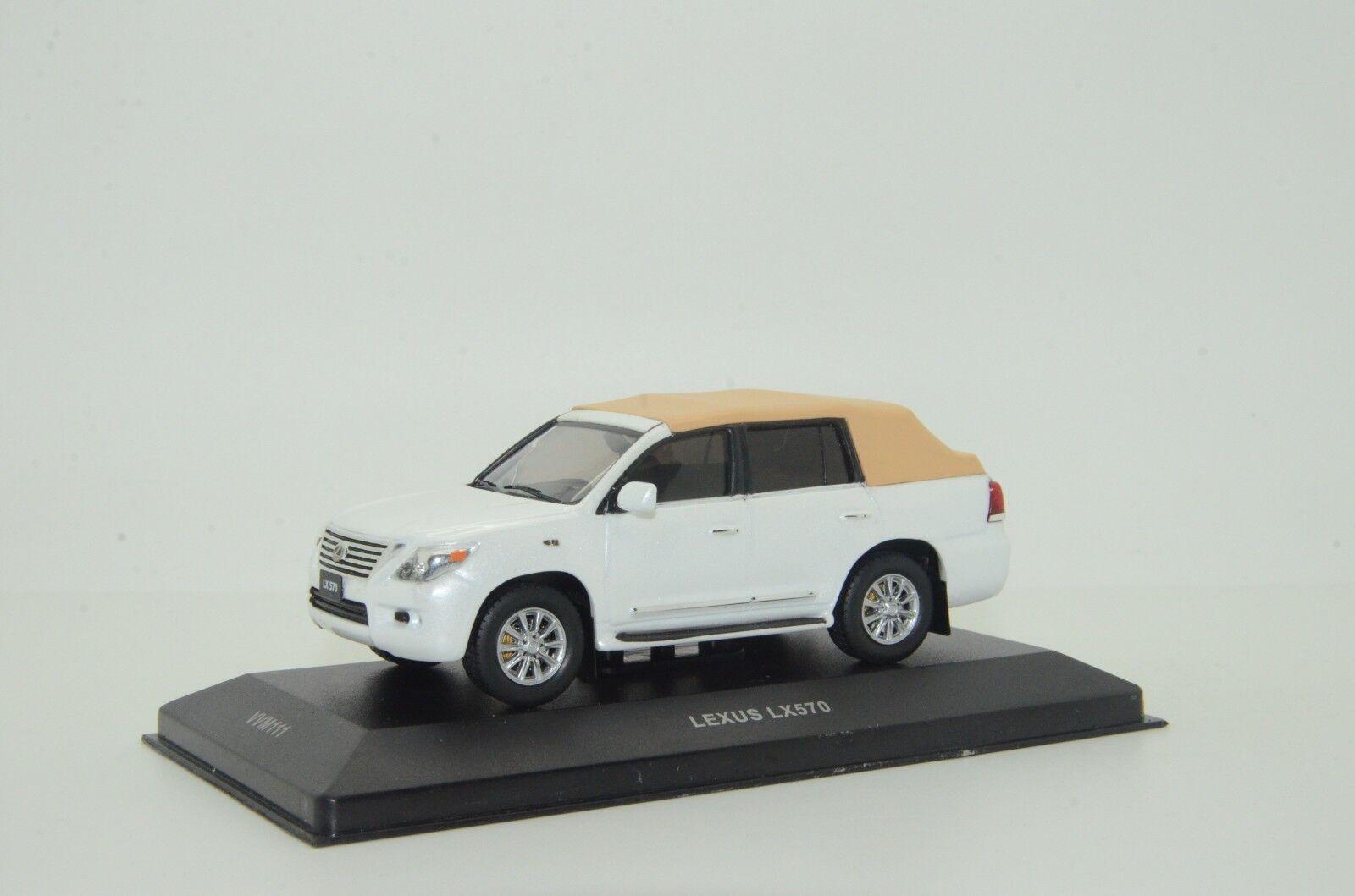 Raro LEXUS LX 570 Cabrio Hecho a Medida 1/43