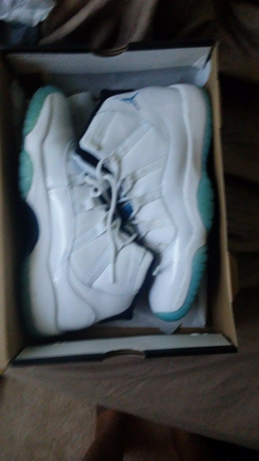 Nike Air Jordan 11 Legend Blue White Columbia XI Retro - 378037 117 - SIze 7y The most popular shoes for men and women