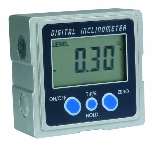 Protractor MEBA Digital Electronic Magnetic Angle Gage Level Bevel Gauge