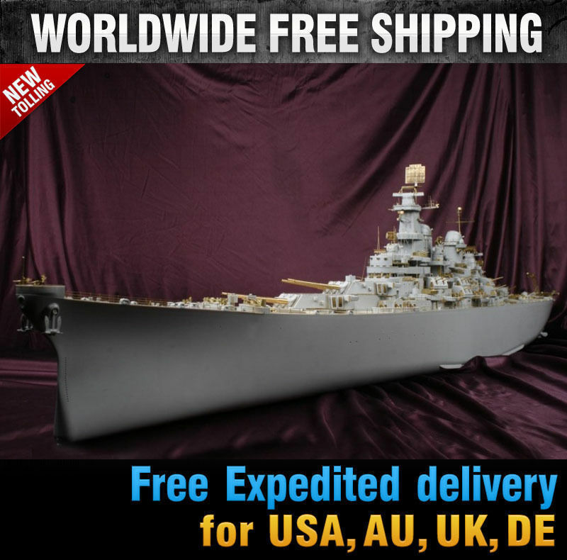 Hobby365 New 0 USS IOWA DX PACK for Trumpeter  by MK.1 Design MD20188