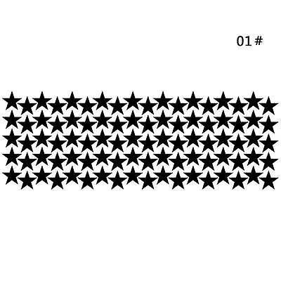 Pretty 10/20/90pcs Star Wall Sticker For Kids Room Decor Removable Waterproo