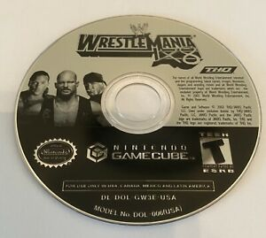 WWE-WrestleMania-X8-Disc-Only-Nintendo-GameCube-Tested-Ready-To-Ship