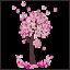 Wandtattoo-Kinderzimmer-Schmetterlinge-Baum-suess-Maedchen-pink-rosa-Sticker-Wald