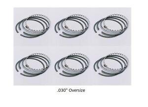 Engine Piston Ring Set fits Datsun 280Z 75-78 /& 280ZX 79-80 ITM 021-1601-Std