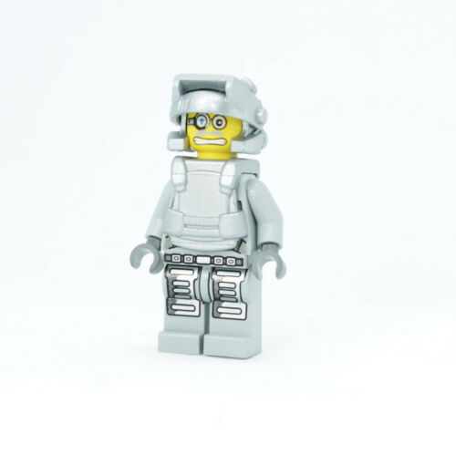 Lego Brains 8190 Gray Outfit Power Miners Minifigure