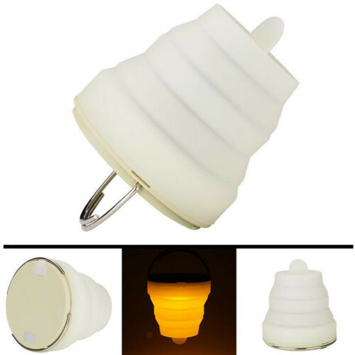 Foldable LED Camping Lamp Lantern Garden Beach Hanging Lamp USB Recharging