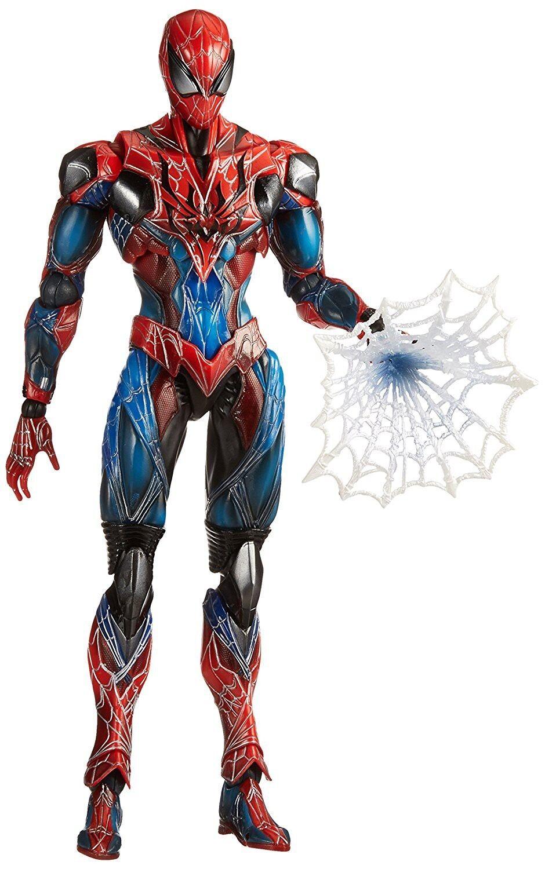 Marvel Variant  Play Arts Kai Spider-Man Action Figure  connotation de luxe discret