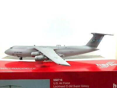 Herpa Wings 1:200 Lockheed c-5m Super Galaxy u.s air force Pelican 558716