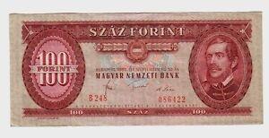 Ungheria-Hungary-100-fiorini-1980-BB-G-Pick-171f-lotto-1600