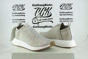 check out d4332 b0db7 Details about DS Adidas x Naked x Kith NMD CS2 PK Sandstone Tan City Sock 2  BY2597 Ronnie Fieg