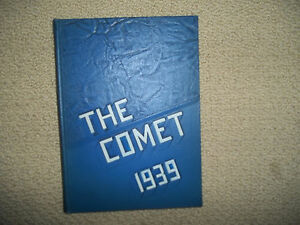 1939-WEST-DIVISION-HIGH-SCHOOL-YEARBOOK-MILWAUKEE-WISCONSIN-THE-COMET