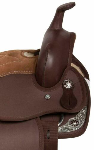 New Youth Child Beautiful Synthetic Barrel Racing Pony Western Horse Saddle Tack